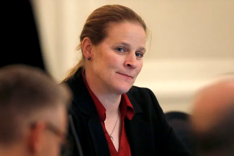 New U.S. Soccer Federation president Cindy Parlow Cone was previously the governing body's vice president.