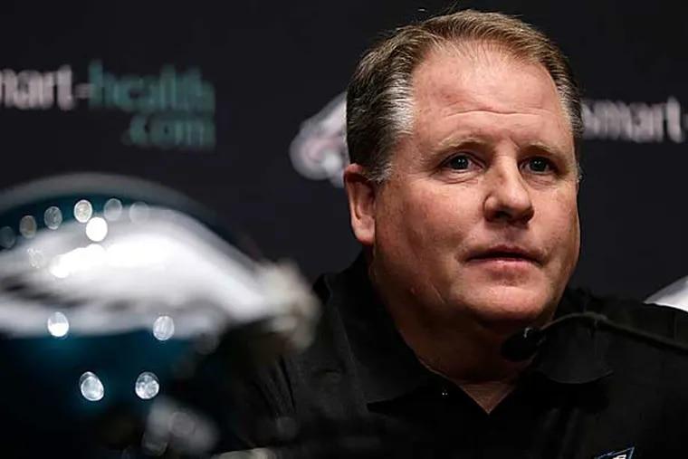 Philadelphia Eagles head coach Chip Kelly. (Matt Rourke/AP)