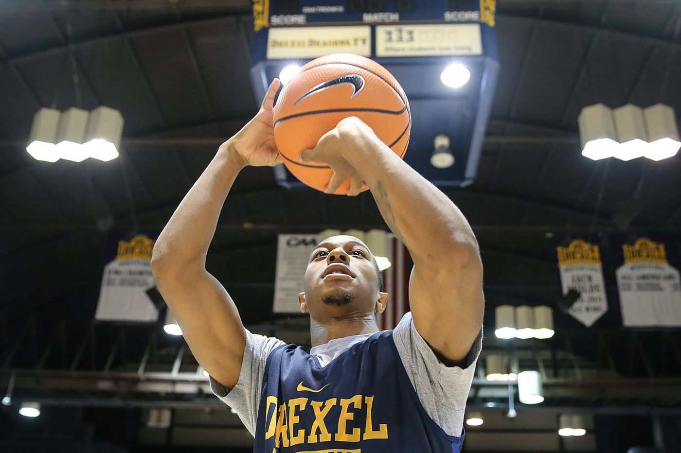 Drexel point guard Kurk Lee playing for his family