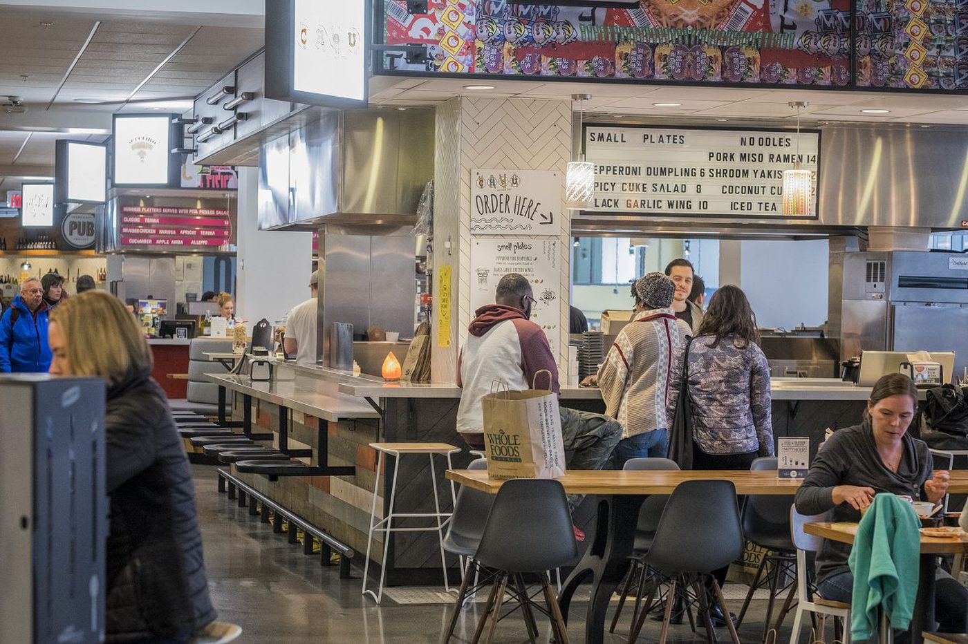 Cheu Noodle Bar and Wiz Kid to leave Whole Foods food court