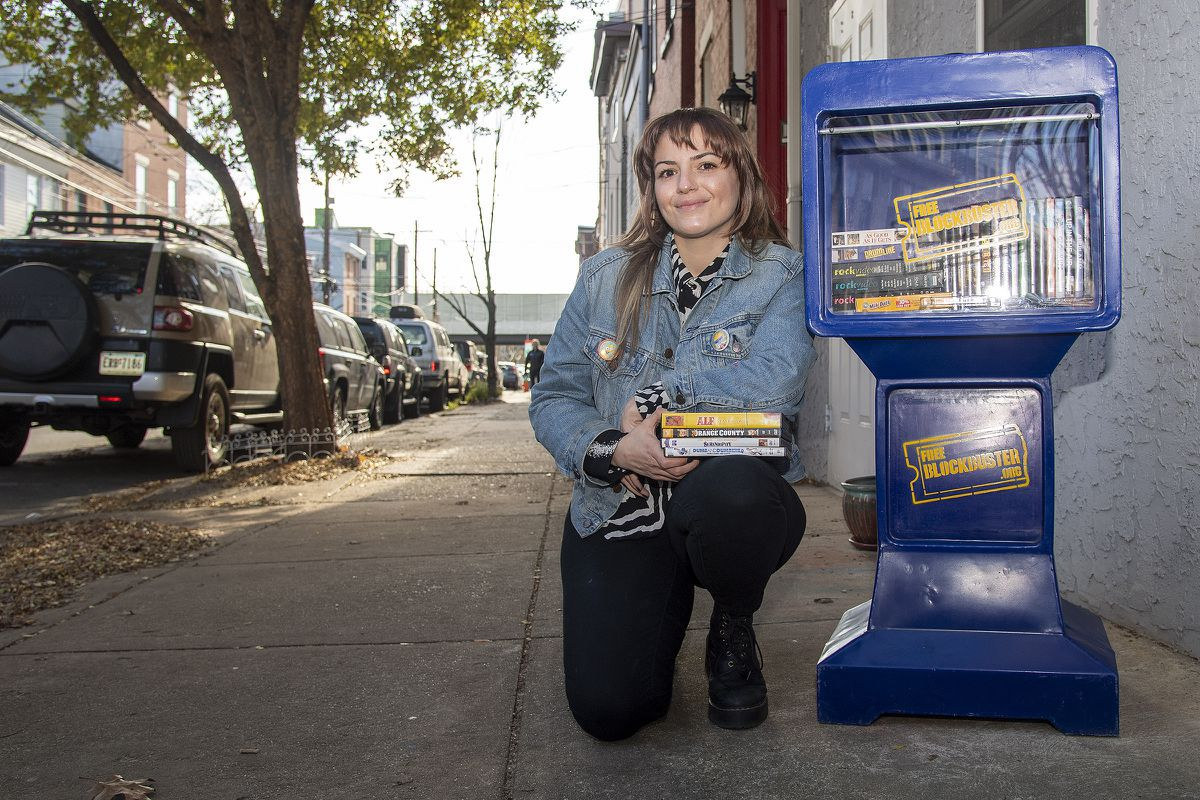 Free Blockbusters, with everything you'd find at a real Blockbuster, are now in Fishtown and Delco