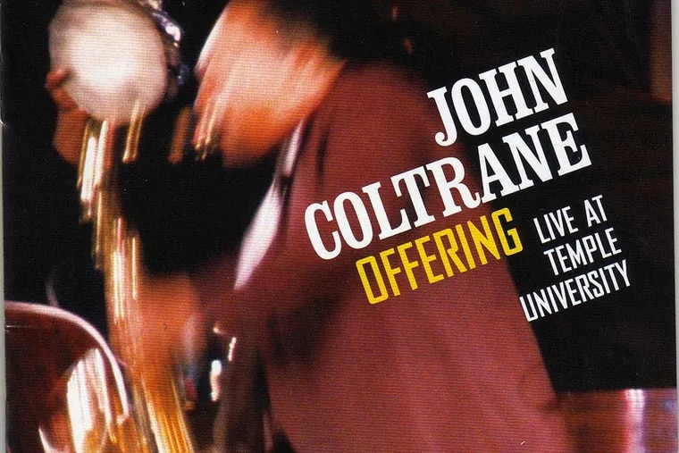Album Cover of the John Coltrane Concert at Temple University in 1966 named Offering.  ( handout / Handout )