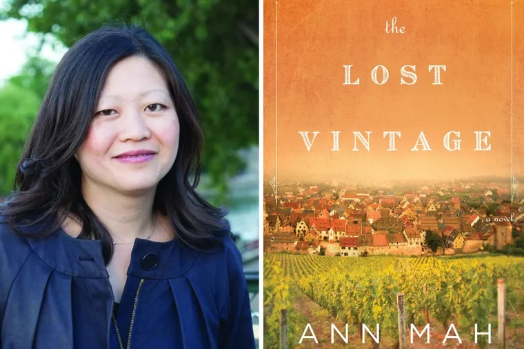 """Ann Mah, author of """"The Lost Vineyard."""""""