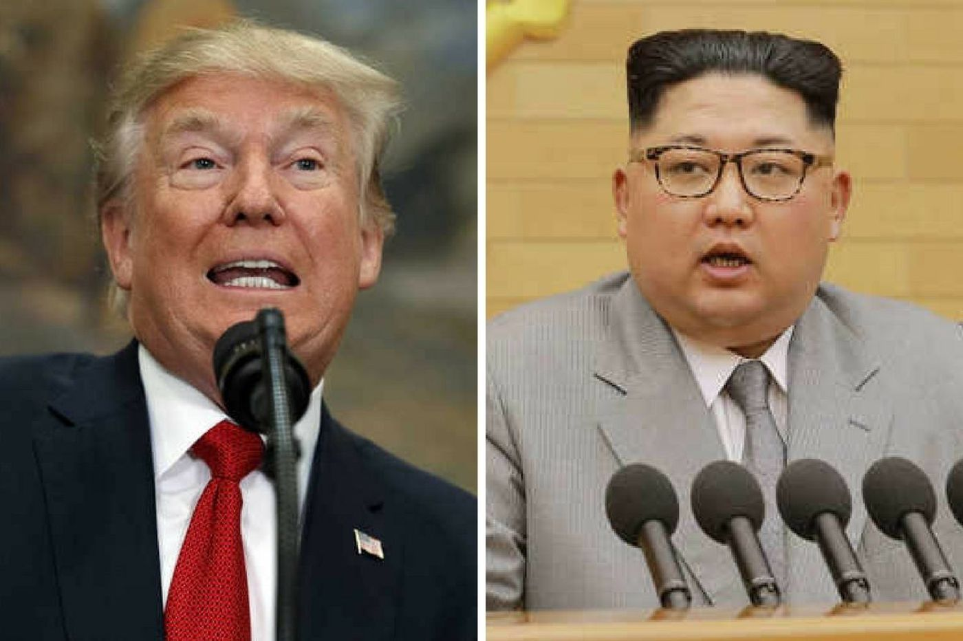 Button Man vs. Rocket Man could lead to nuclear war | Trudy Rubin