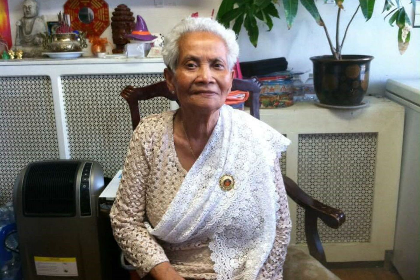 Sin Chhoeum, 100, fled the Khmer Rouge Killing Fields for the United States