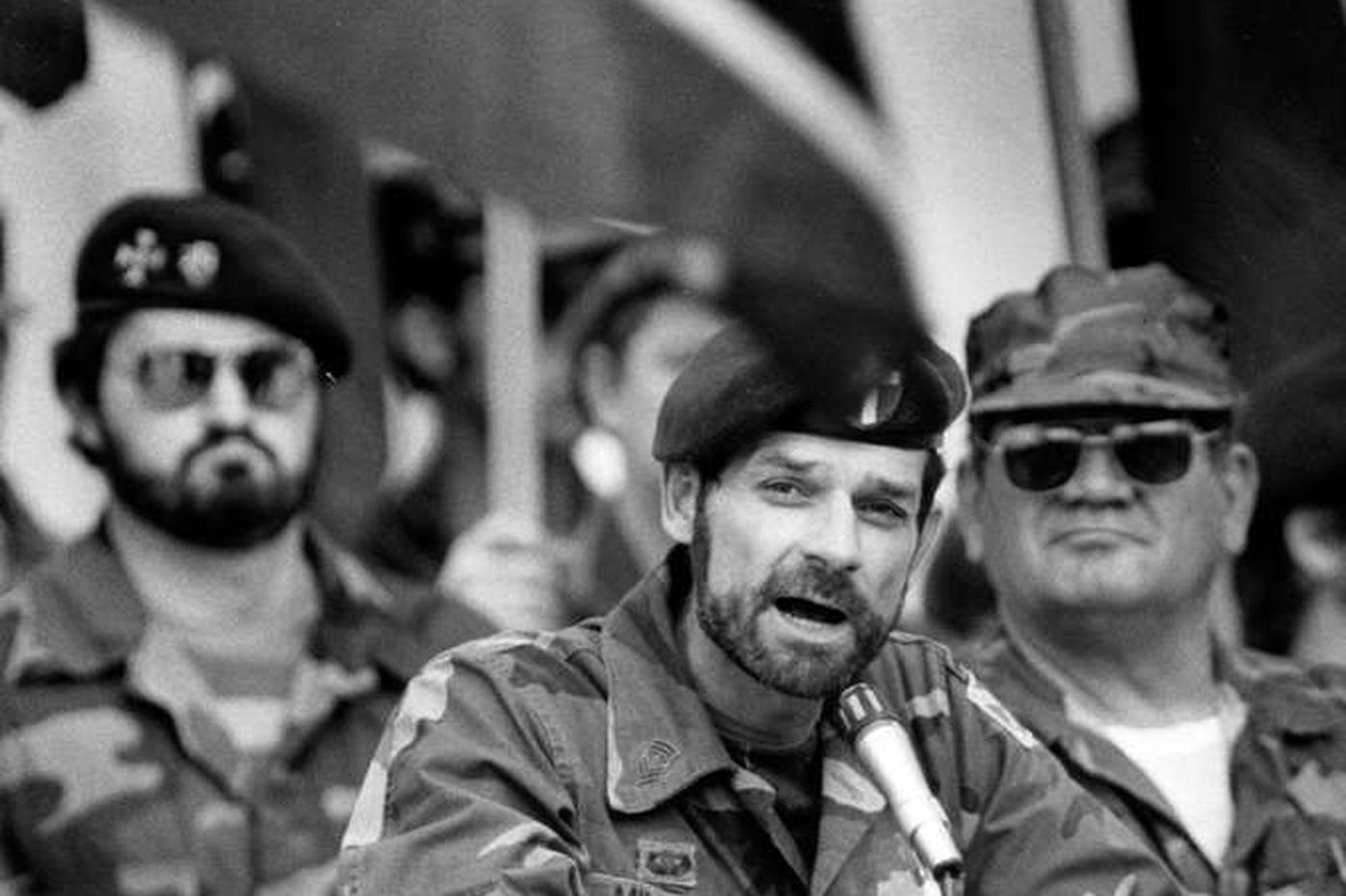 30 years ago, a rising voice of white power