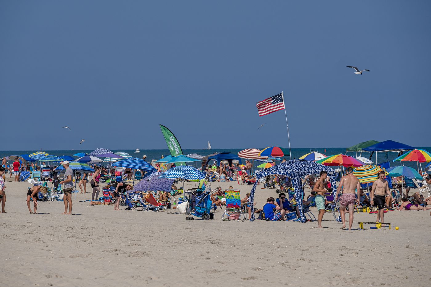Some beaches in Avalon, Wildwood Crest, Cape May, Sea Isle under advisory for bacteria