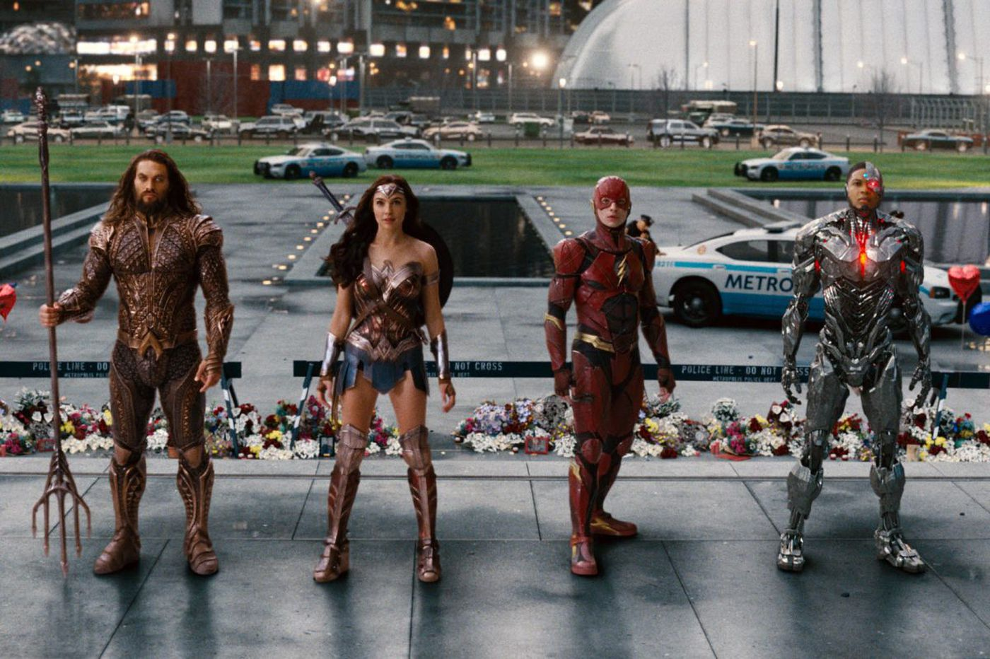 'Justice League': The super mopey superhero flick has one lame villain