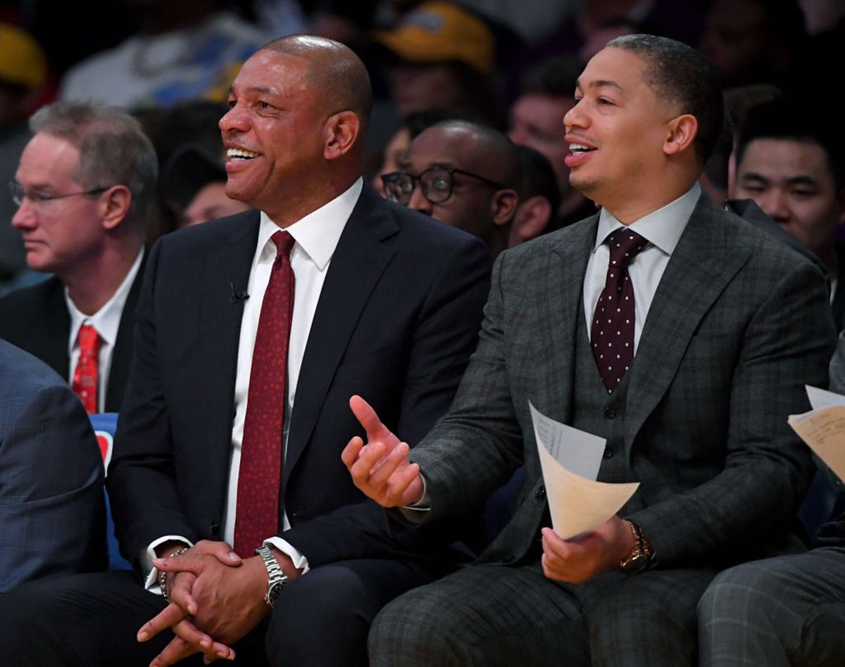 Ty Lue has to wonder if it's worth interviewing for a Sixers job that, sources say, is Mike D'Antoni's to lose