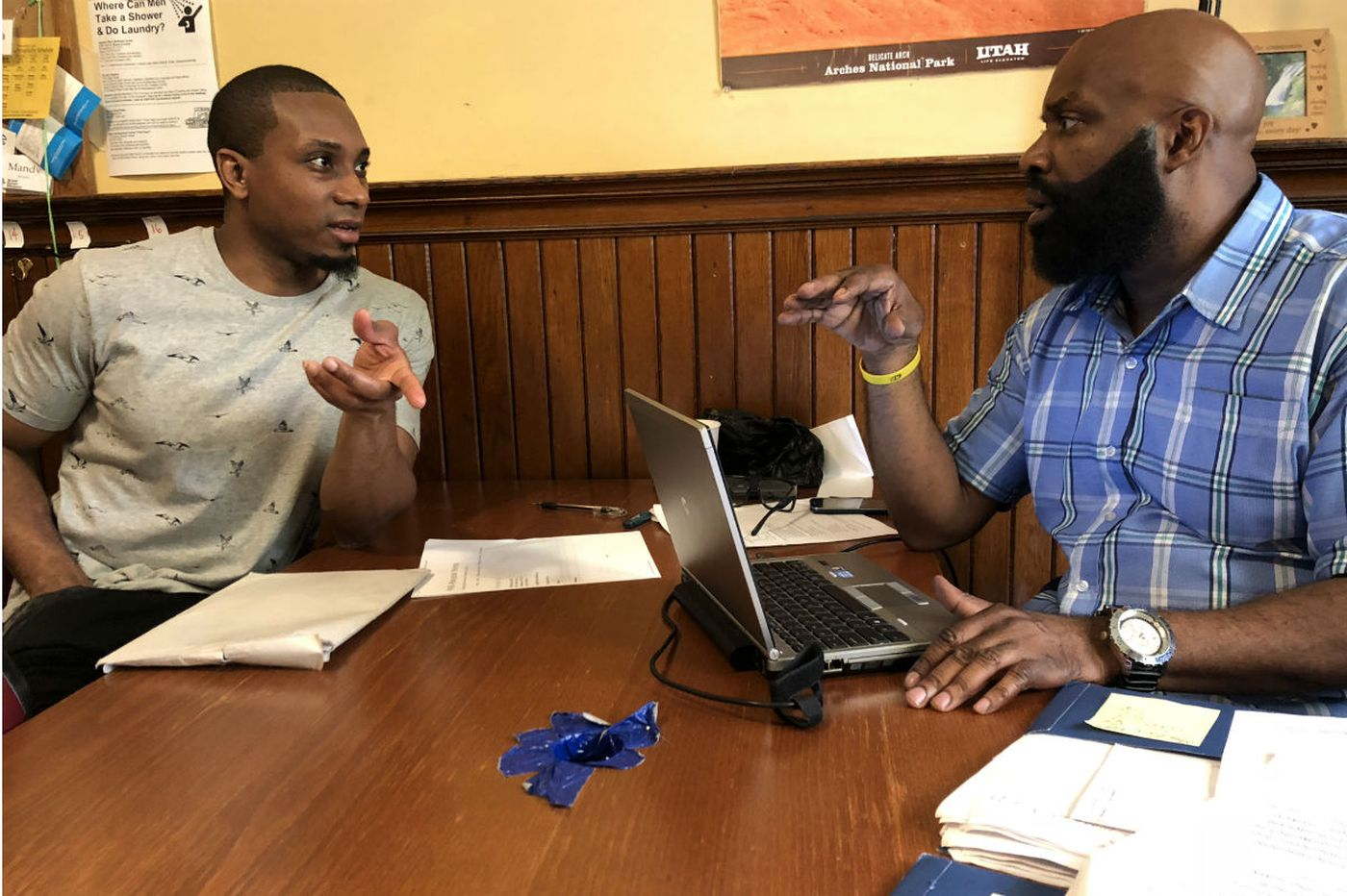 After 14 years in prison, ex-offender fills out his first resume