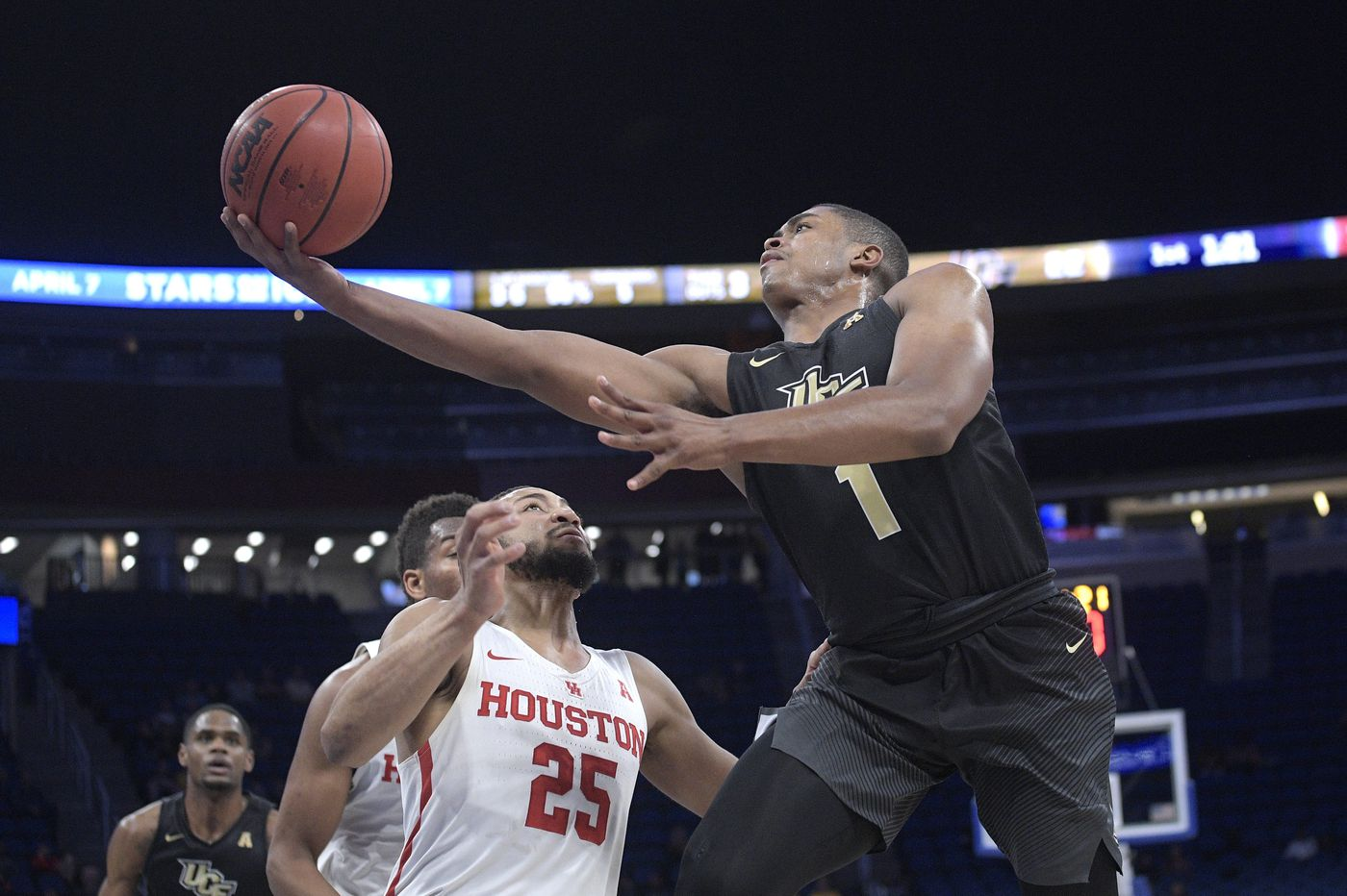 442abc6522d Tacko Fall, B.J. Taylor hope to lead Central Florida past Cincinnati,  Houston to top of conference ...