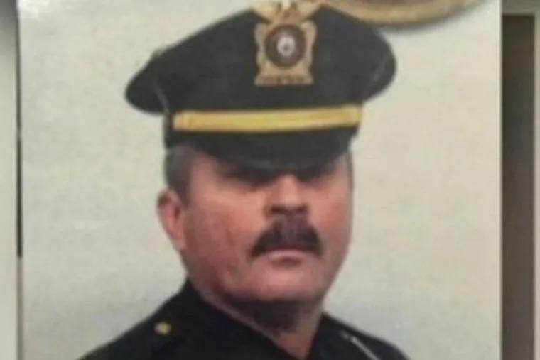 Former Bordentown Township police chief Frank M. Nucera Jr.
