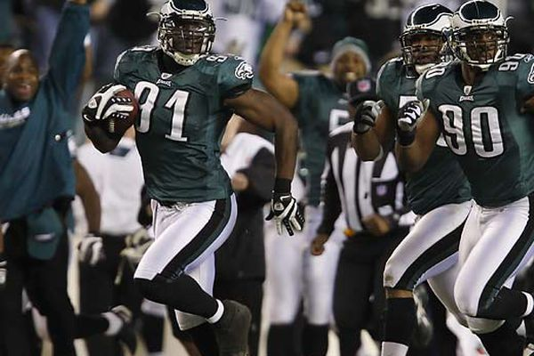 Eagles 44, Dallas 6