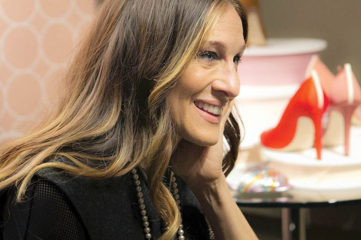 Sarah Jessica Parker 'Busted' a move in Philly