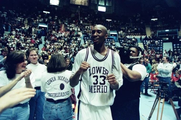 Kobe Bryant earned the 1995 Naismith and Gatorade High School Player of the Year awards after his senior season at Lower Merion.