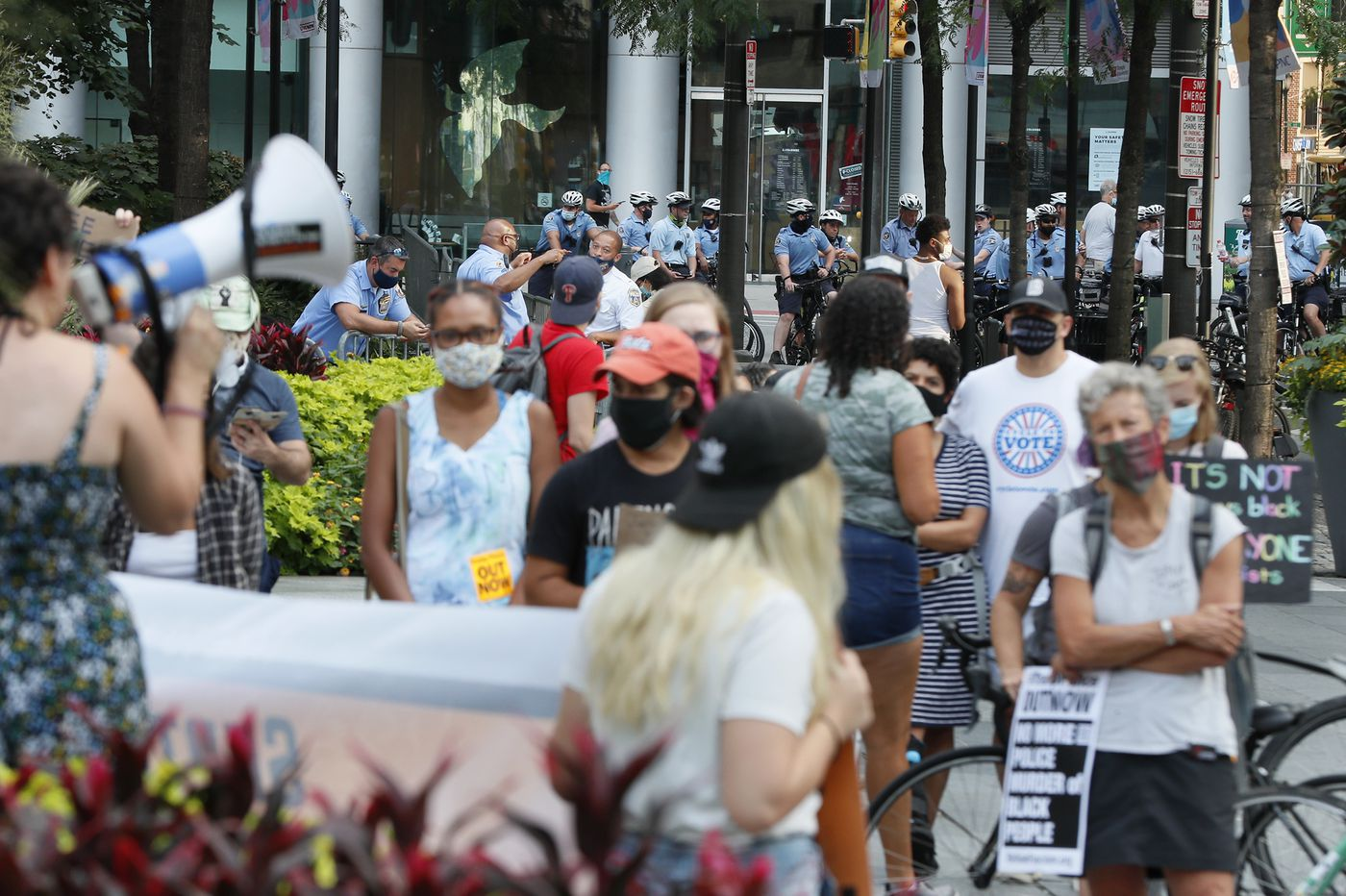 Philly protesters call for justice for Jacob Blake: 'Now is the time to take to the streets'