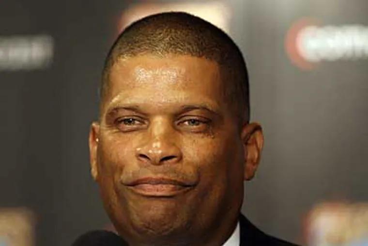 New 76ers coach Eddie Jordan has a 230-288 record in two NBA coaching stints. (David Maialetti / Staff Photographer)