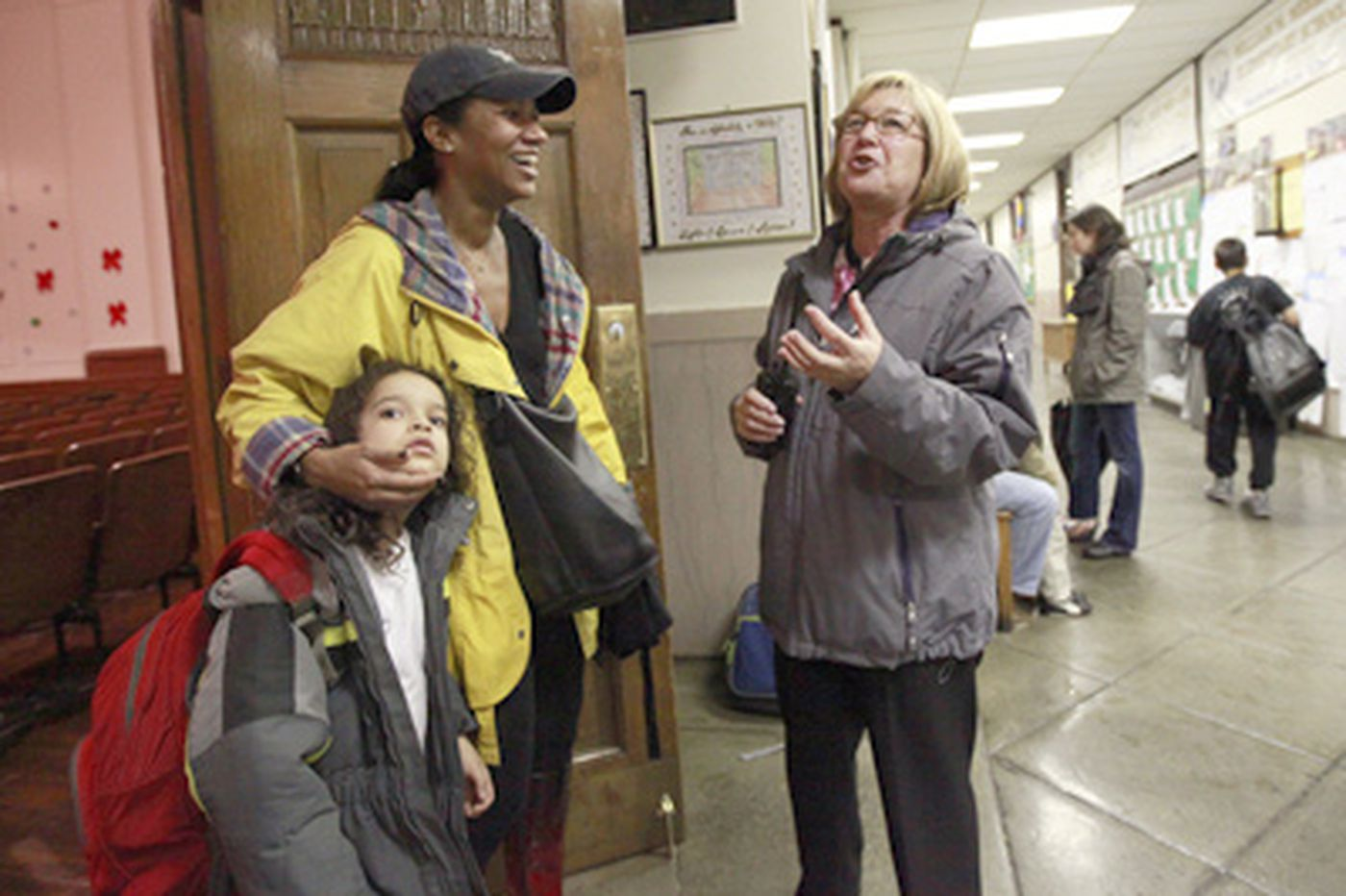Parents come to the rescue of a cherished public school