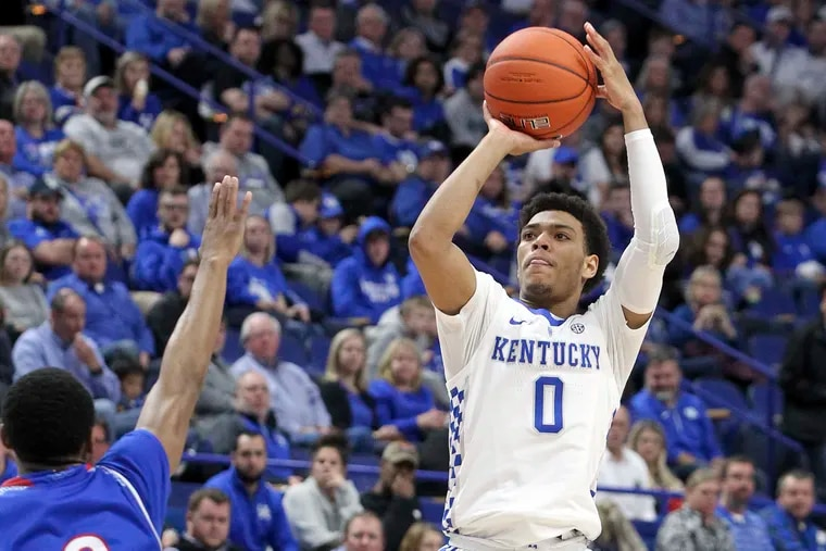 Quade Green chose Kentucky over schools such as Syracuse and Villanova out of high school.