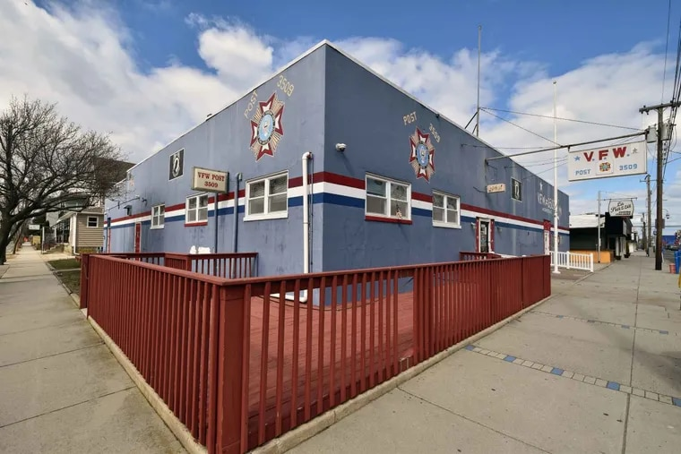 VFW on Pacific Avenue that has closed.