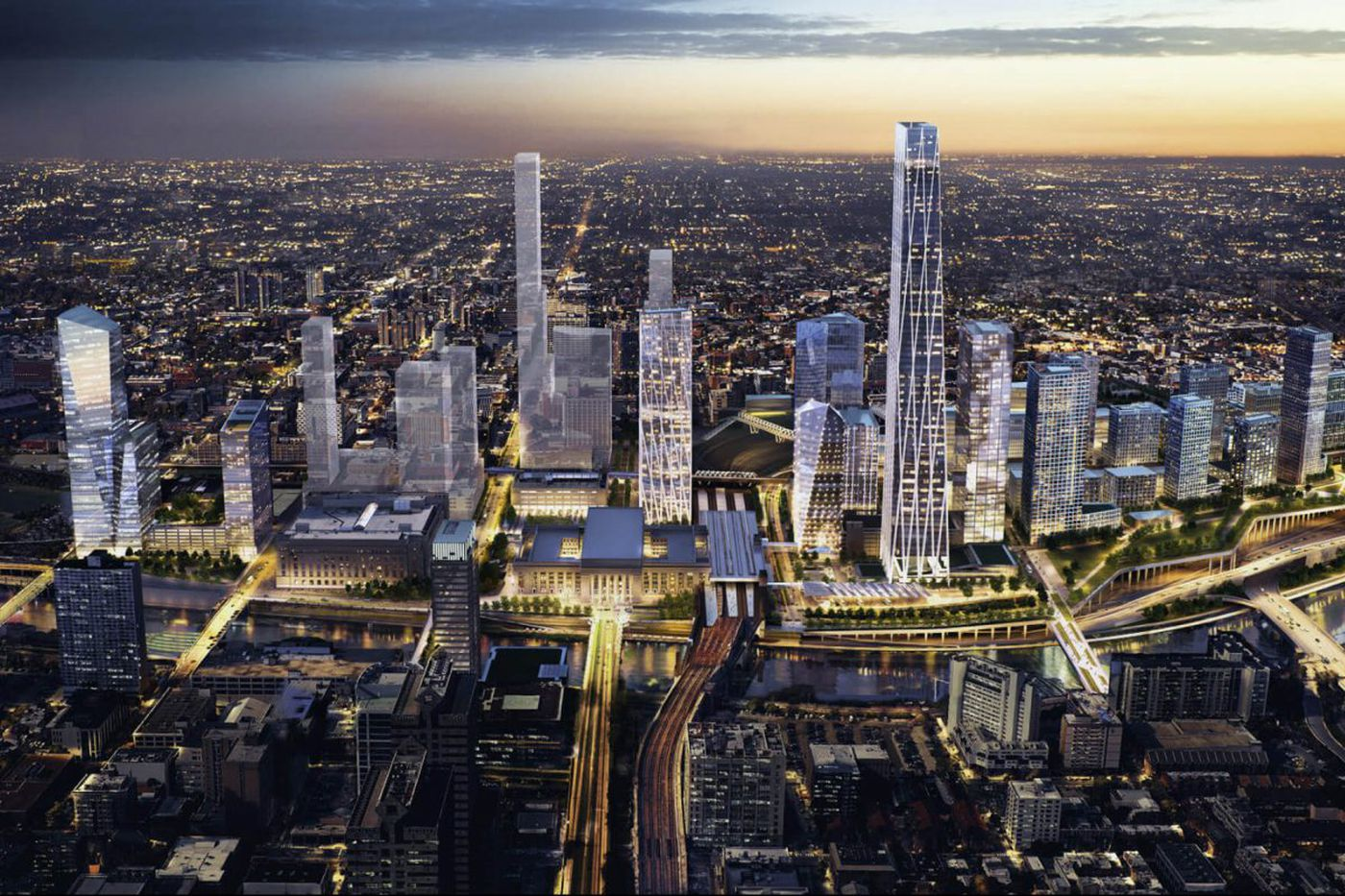 Brandywine moves forward with land acquisitions for Schuylkill Yards plan