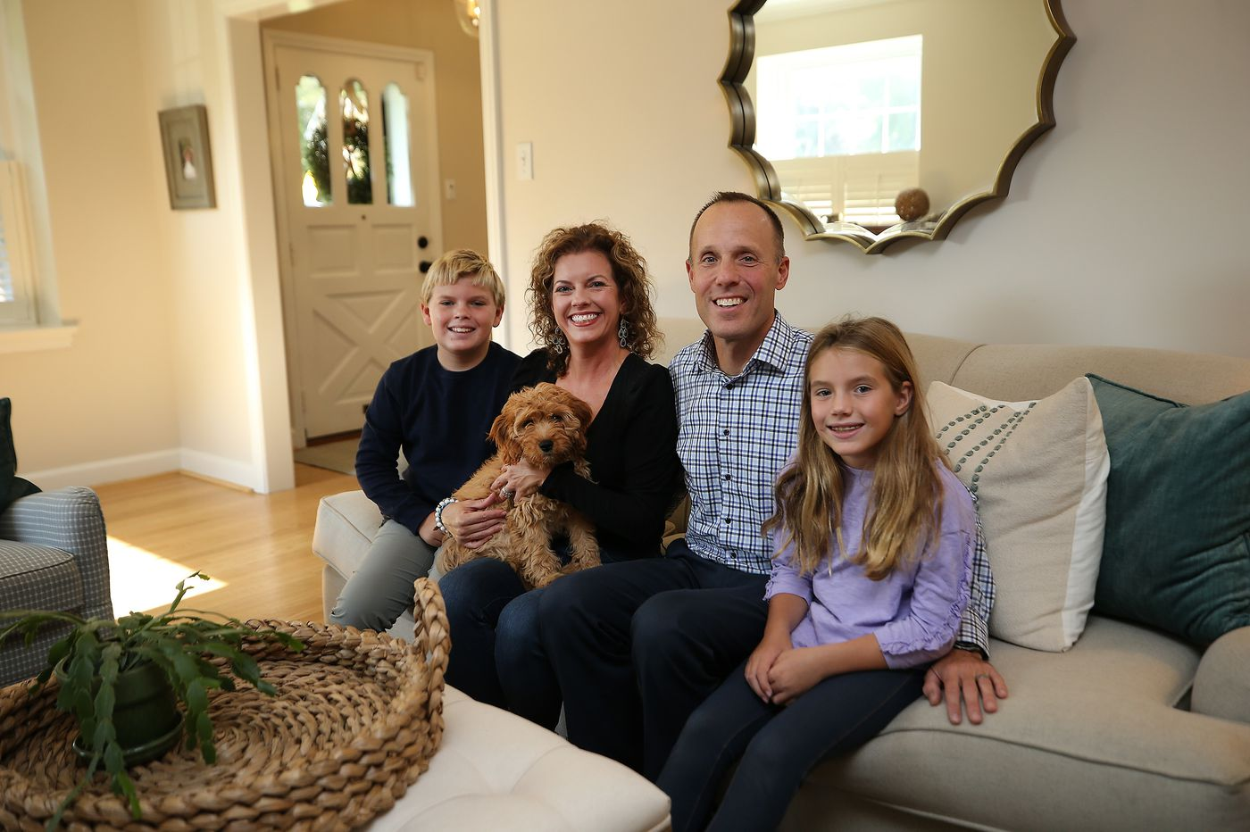 Family relishes the restored charm of a 1950s Colonial in Havertown