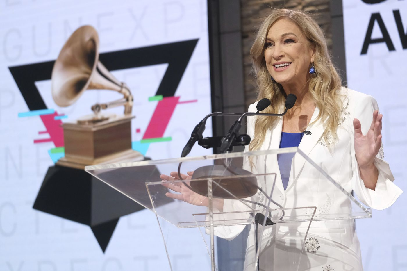 Grammys CEO says she was ousted after reporting harassment