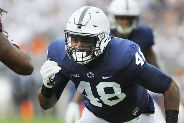 Penn State's Shareef Miller learned from role models, now has become one