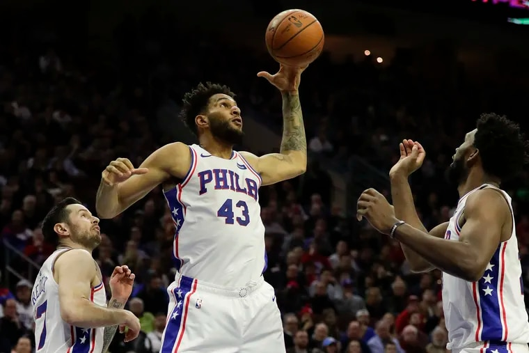 Playing extended minutes against Toronto last Saturday, Jonah Bolden finished with four points, nine rebounds and four blocks.