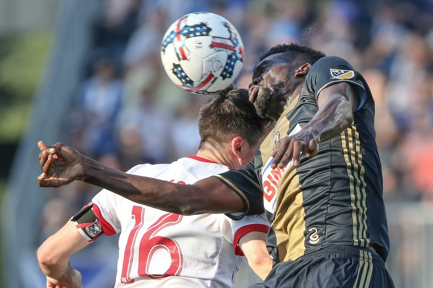 Union fall to New England, 3-0, on the road