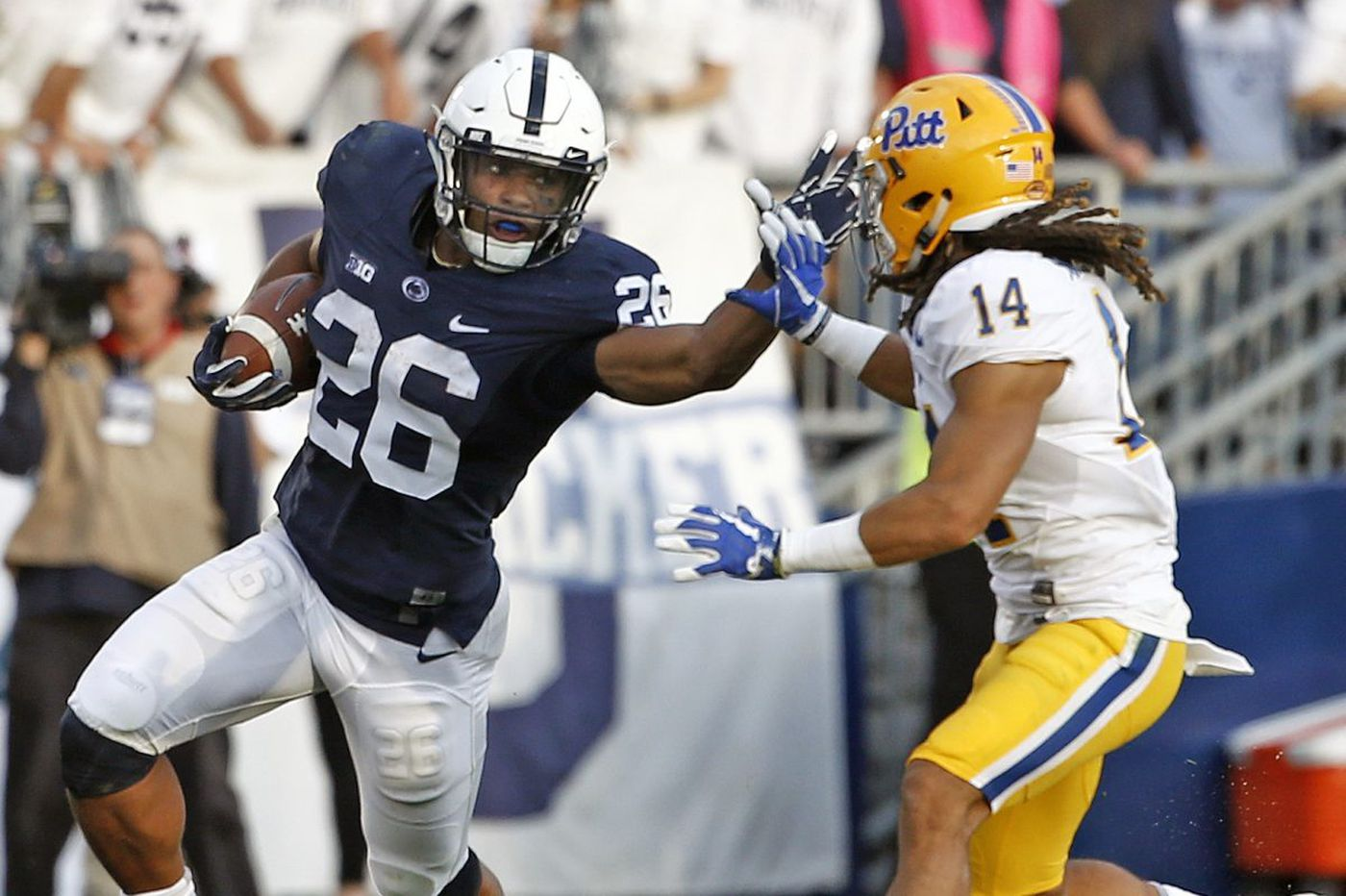 Penn State and Pittsburgh will renew their rivalry at night on Sept. 8