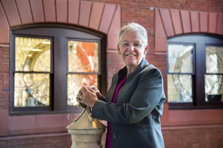 Former U.S. EPA Administrator Gina McCarthy on Tuesday at the University of Pennsylvania, where she was awarded the Carnot Prize for energy policy.