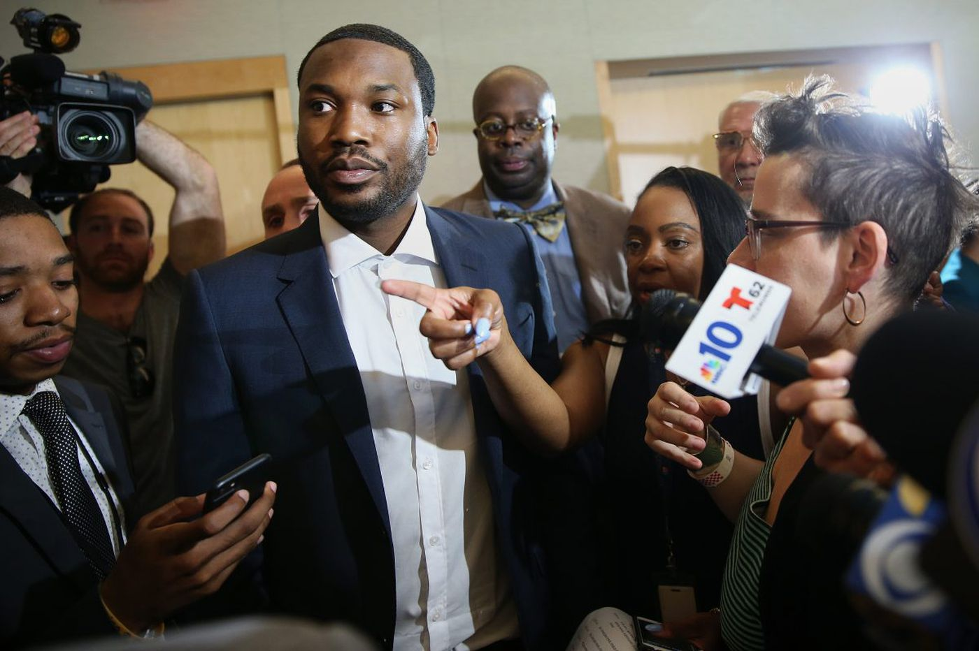 Meek Mill pushes for criminal-justice reform: 'I made a commitment to speak for the voiceless'