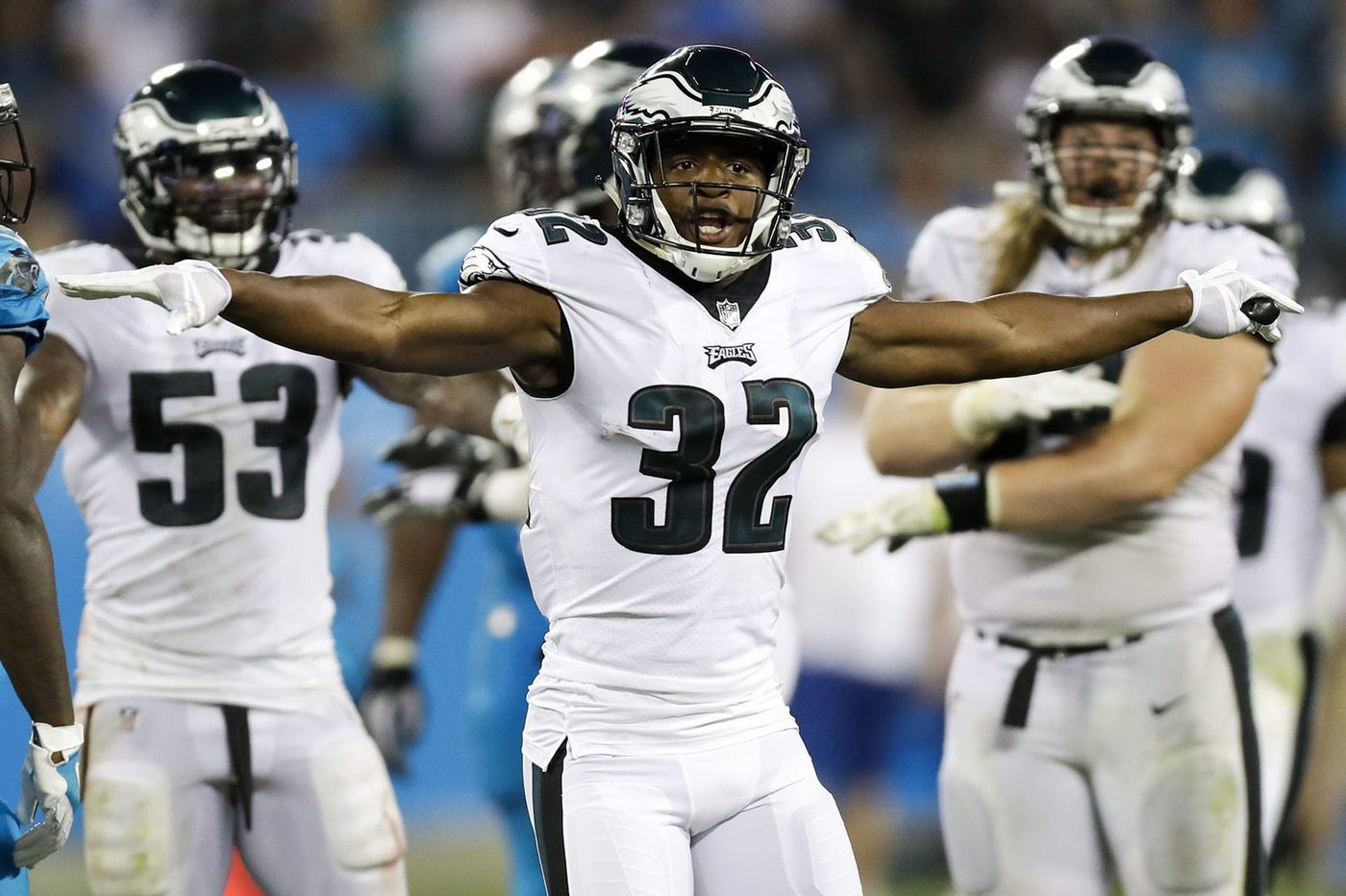 Eagles' Rasul Douglas feels he has improved, but so has team's cornerback competition