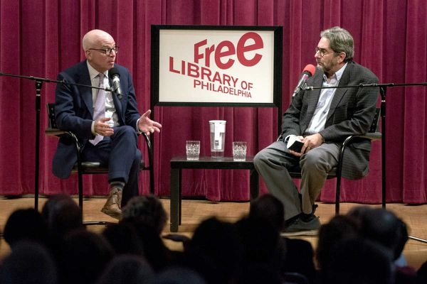 At Free Library, Wolff discusses the firestorm around 'Fire and Fury'