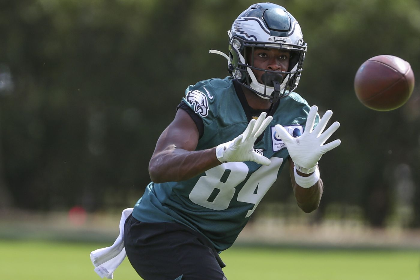 Eagles promote wide receiver Greg Ward, place offensive tackle Jordan Mailata on injured reserve