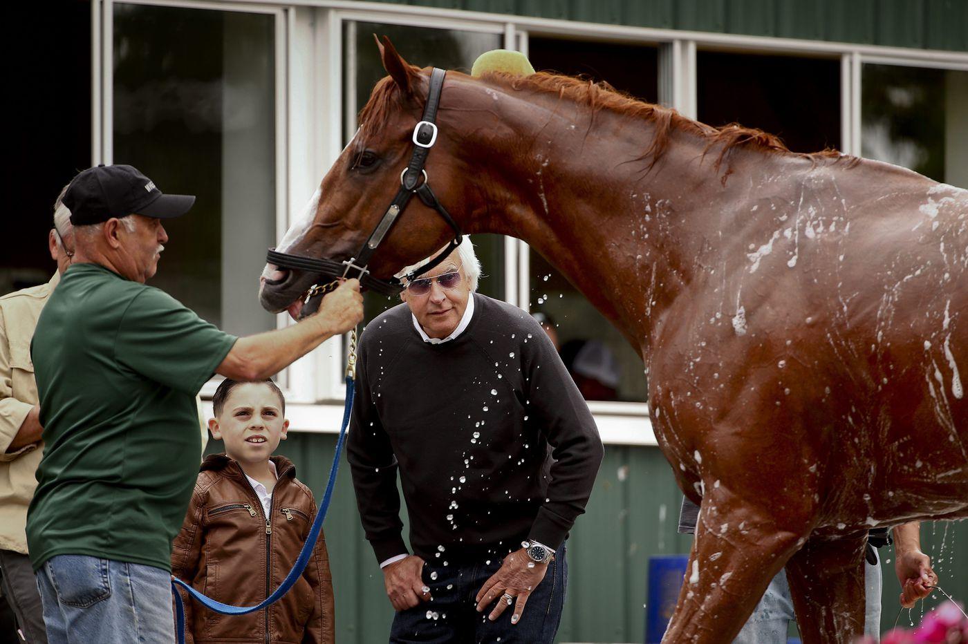 Bob Baffert a good reason to believe in Justify winning at Belmont Stakes
