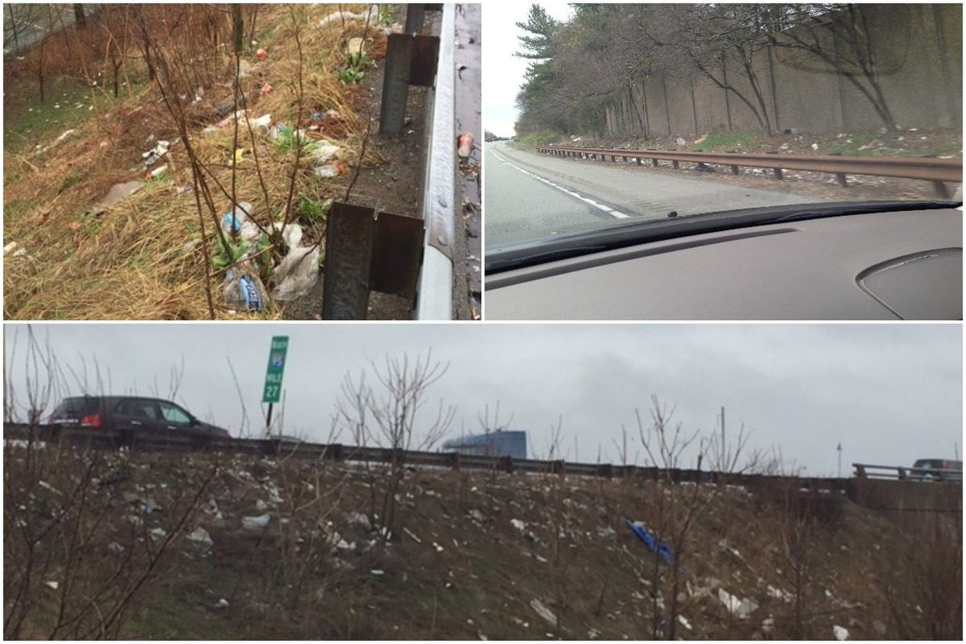 Philly's trashy highways have PennDot spending half its cleanup budget on our five counties