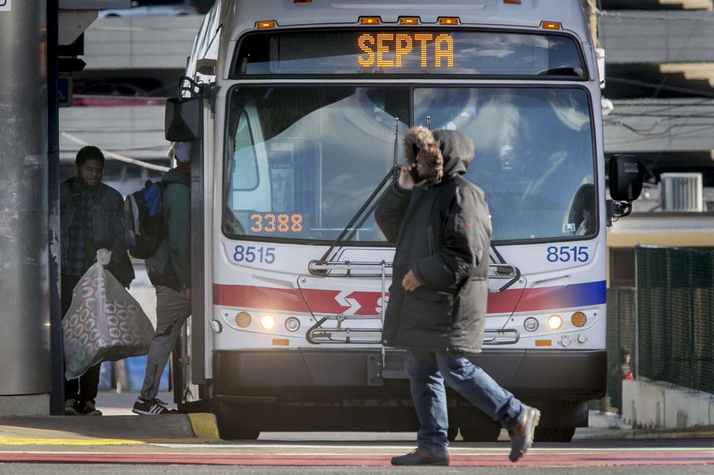 Cars are blocking bus stops everywhere in Philly. The PPA has a simple fix