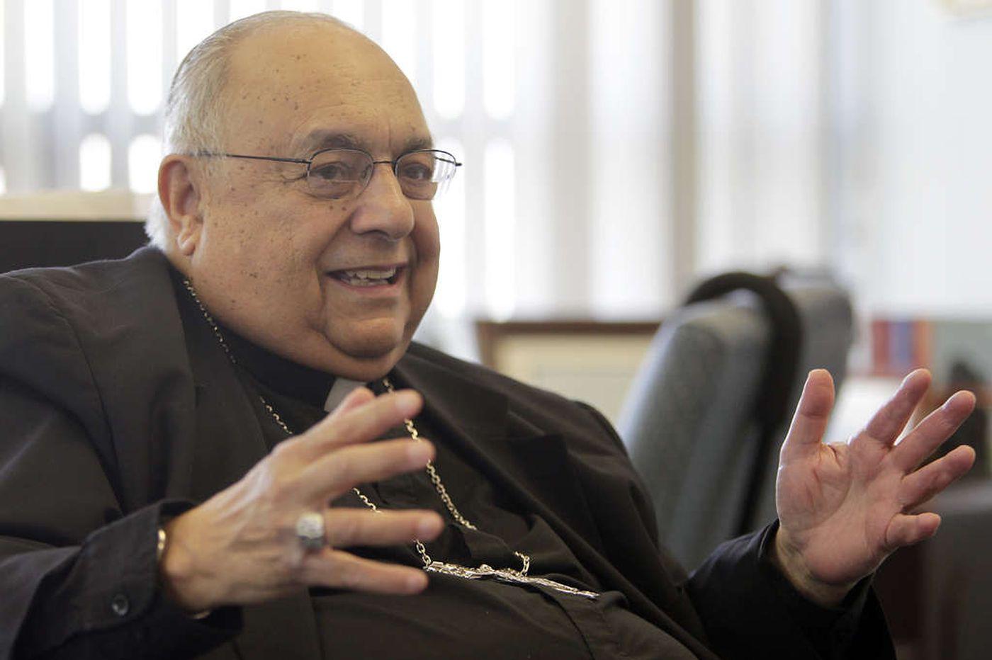 Bishop Joseph Galante, 80, led Diocese of Camden