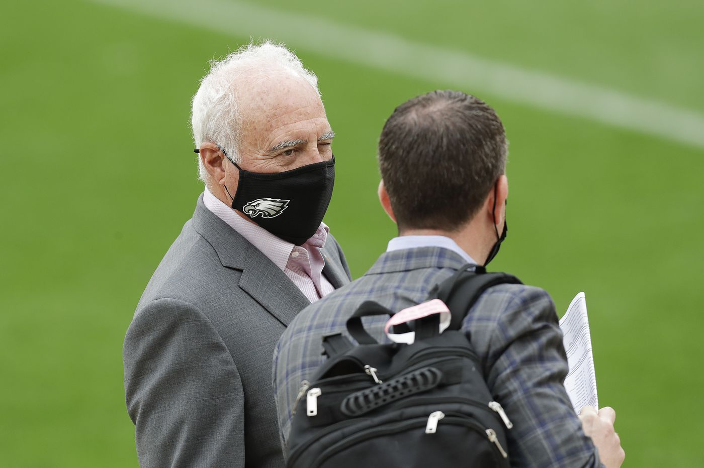 Jeffrey Lurie's atypical absence from Browns game speaks to Eagles owner's frustration, sources say