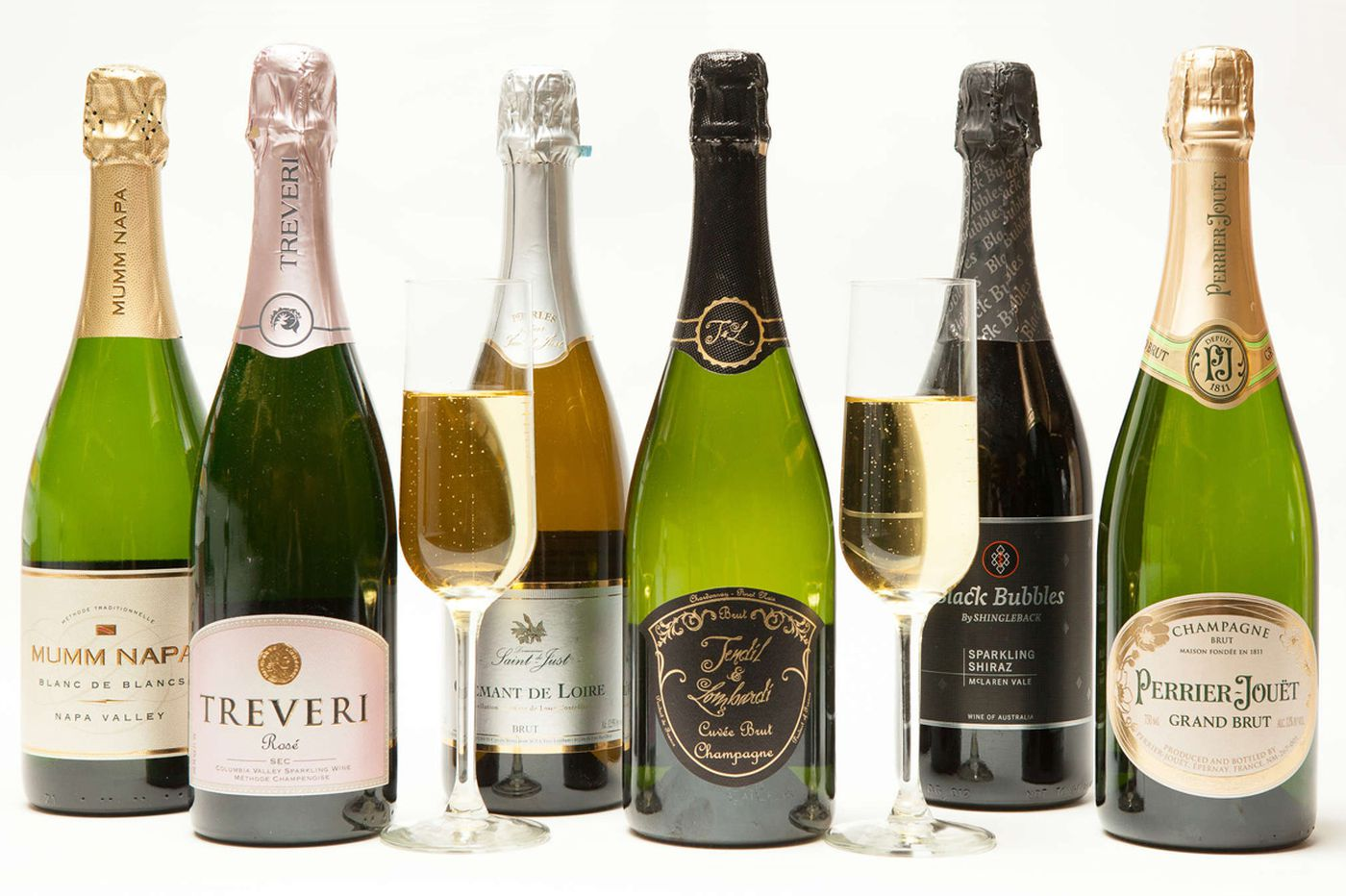 Champagne suggestions to start the new year with a pop