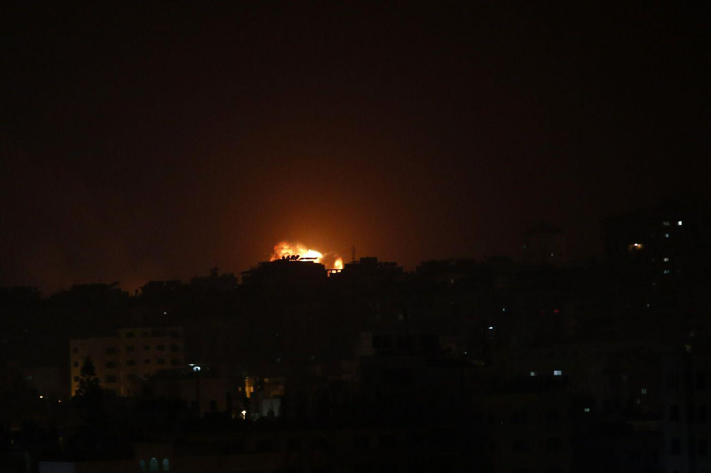 Israel says it struck 100 Hamas targets after rocket attack