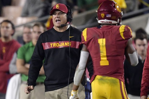 Clay Helton to remain USC football after 5-7 season, but changes promised