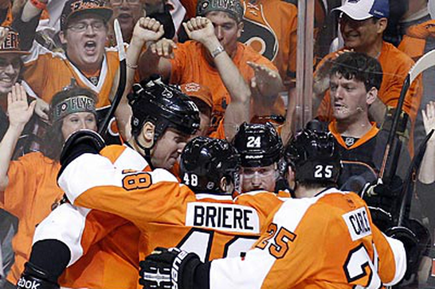 Inside the Flyers: Flyers cite home advantage for Game 6