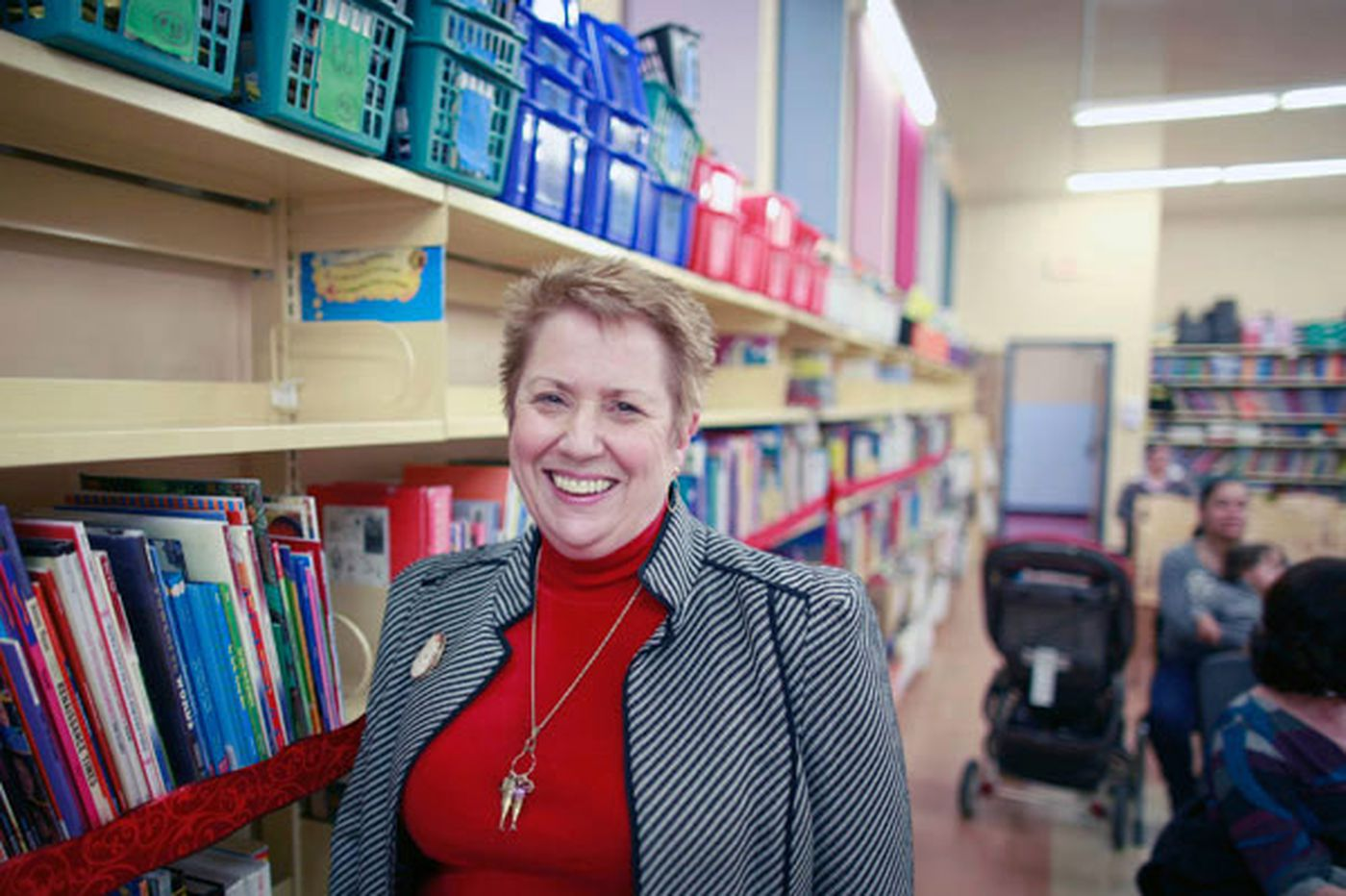 Chestnut Hill College professor's mission: Get books on school library shelves