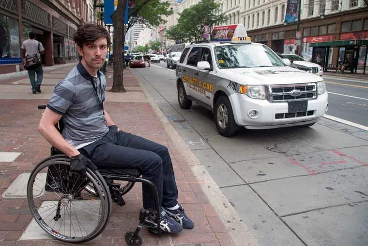 Liam Dougherty wants more accessible rides. He recently needed a car that accommodated his disabilities. Finding one for a 5-minute drive took 2 to 3 hours.