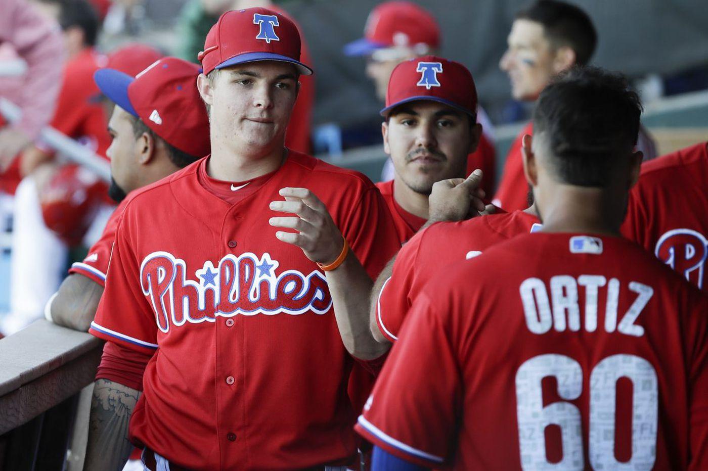 Phillies prospect Mickey Moniak 'grateful' for last year's struggles