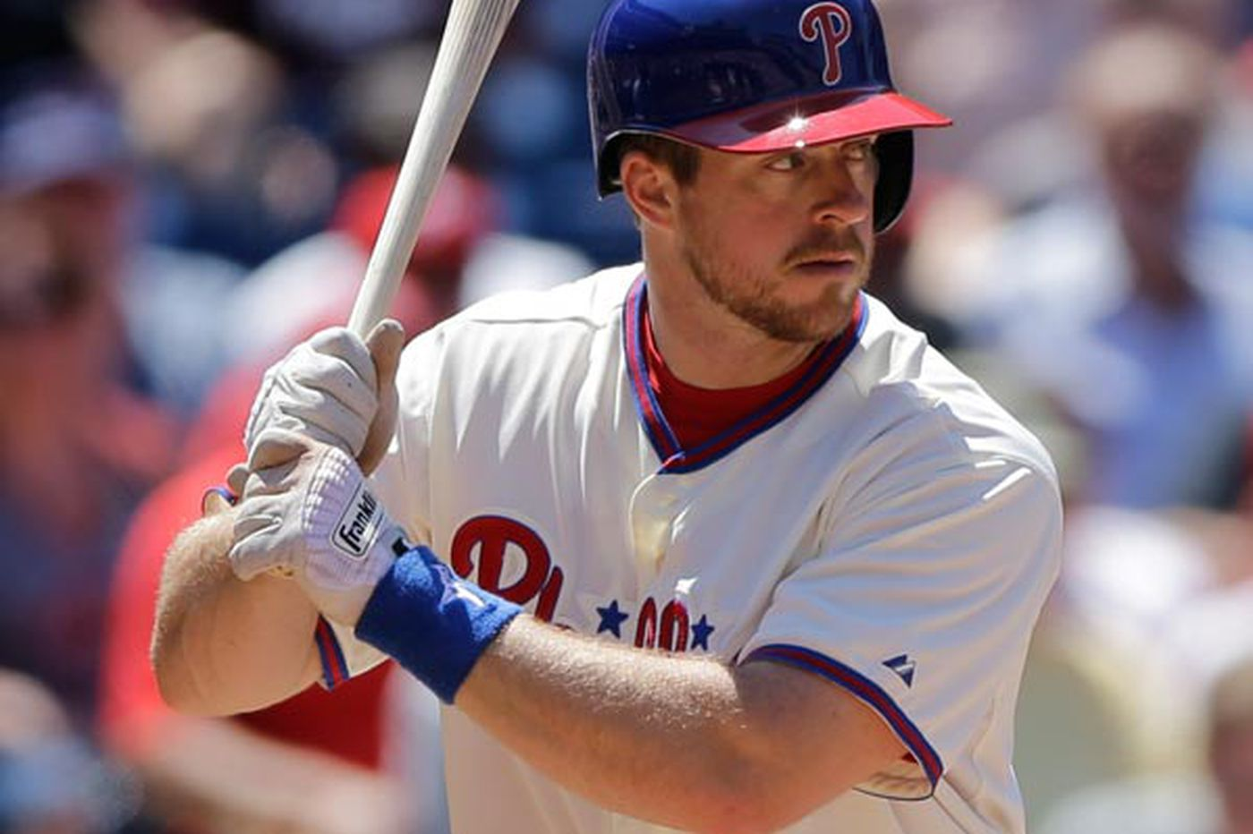 Phillies' Kratz a good example of 'Never give up!'