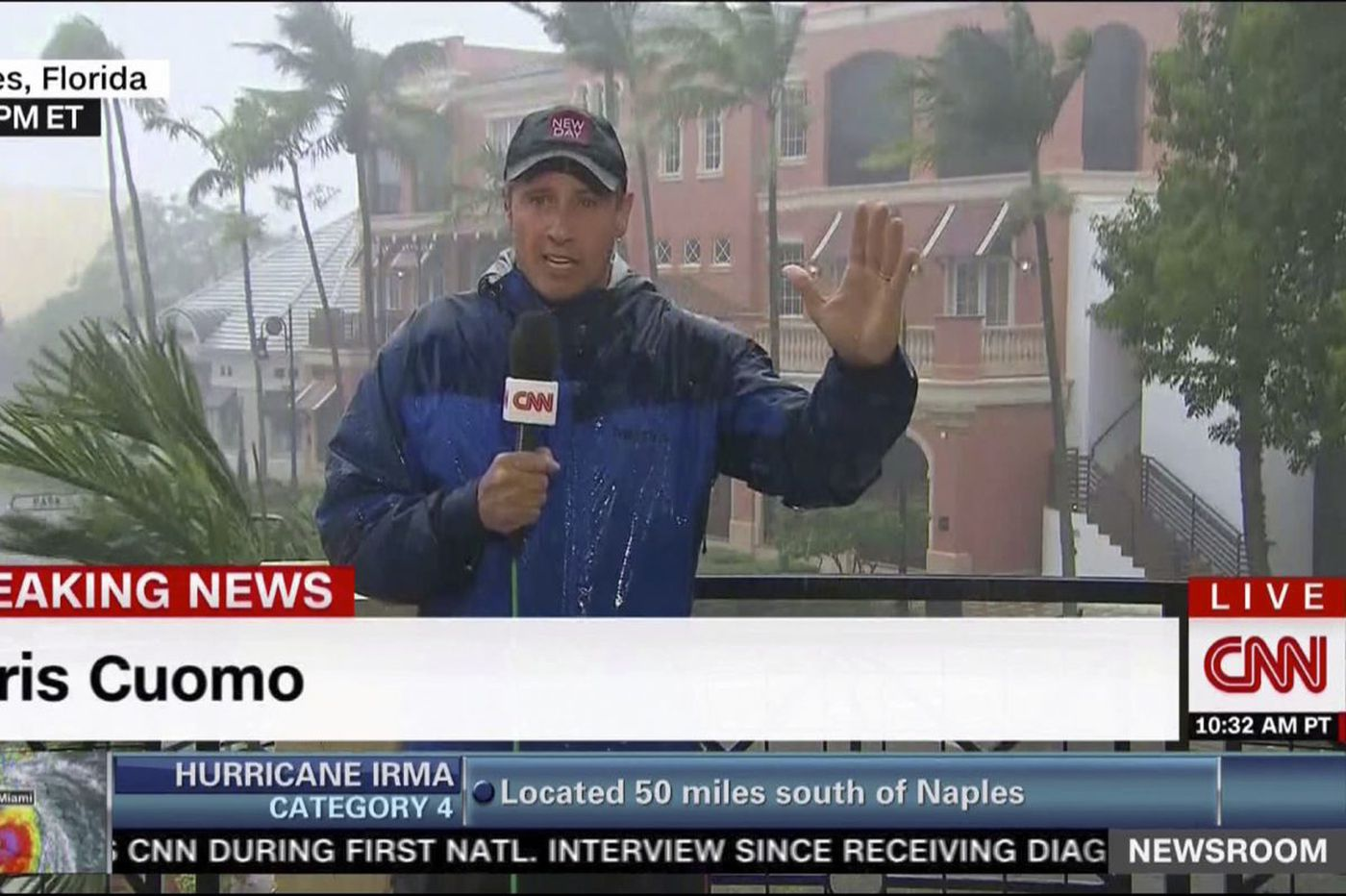 5 signs you may have seen too much of CNN's Irma coverage